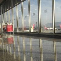Photo taken at Aeroporto Internacional do Rio de Janeiro / Galeão (GIG) by Alberto C. on 10/21/2013