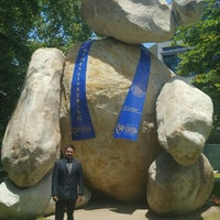 Photo taken at Bear Statue by JuAnt R. on 5/24/2016