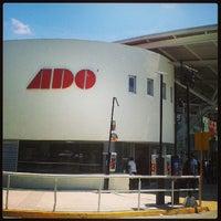 Photo taken at Terminal de Autobuses ADO by Daniel C. on 7/27/2013