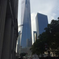 Photo taken at World Trade Center Construction Security by Ephanndie P. on 9/5/2014