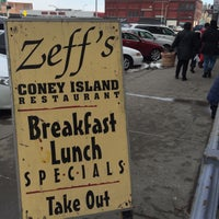 Photo taken at Zeff's Coney Island by Kate H. on 3/7/2015