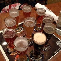 Photo taken at Lazlo's Brewery & Grill - Haymarket by Matt F. on 10/27/2013