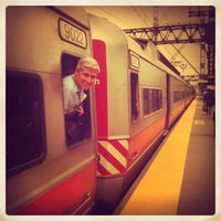 Photo taken at Metro North - Westport Train Station by Anunta I. on 10/4/2012