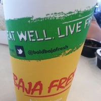 Photo taken at Baja Fresh Mexican Grill by Mike S. on 10/26/2013