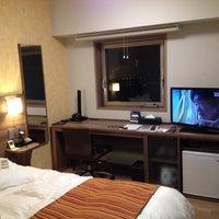 Photo taken at HOTEL SUNOAK Kashiwanoha by Jun S. on 3/11/2015