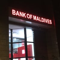 Photo taken at Bank of Maldives PLC by LuThFy M. on 5/31/2016