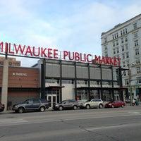 Photo taken at Milwaukee Public Market by jennifer h. on 4/8/2013
