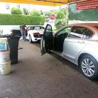 Photo taken at Las Brisas car wash by Vico S. on 7/31/2013