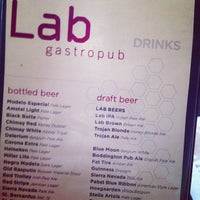 Photo taken at The Lab Gastropub by Paul L. on 11/3/2012