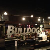 Photo taken at Bulldogs Bar by Patrick M. on 9/30/2013