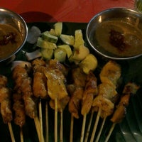 Photo taken at Pondok Satay by Clumsy C. on 2/4/2013