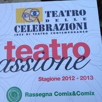 Photo taken at Teatro delle Celebrazioni by Riccardo B. on 2/4/2013