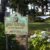 Photo taken at Club de Golf La Toja by Bruno R. on 7/20/2013