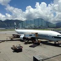 Photo taken at Hong Kong International Airport (HKG) by Benedict U. on 7/3/2013