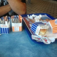 Photo taken at White Castle by Joshua C. on 10/1/2013