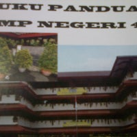 Photo taken at SMP Negeri 49 Jakarta by Pudji B. on 9/28/2013
