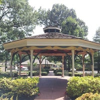 Photo taken at Collierville Town Square / Confederate Park by Ben M. on 8/30/2013