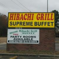 Photo taken at Hibachi Grill Sushi Buffet by Ben M. on 1/15/2014
