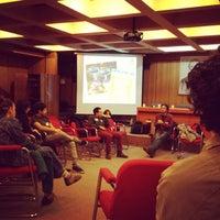 Photo taken at Facultad de Ciencias Sociales Universidad de Chile by Rafaela M. on 6/1/2013