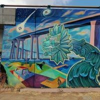 "Photo taken at Chicano Park by Z. ""Online"" on 8/11/2016"