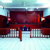Photo taken at Pengadilan Negeri Kelas IA Bale Bandung by Abang G. on 3/27/2014