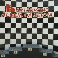 Photo taken at Kartódromo Internacional Aldeia da Serra by Wellington C. on 8/24/2013