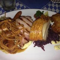 Photo taken at Bavarian Bier Cafe by Linda N. on 10/19/2012