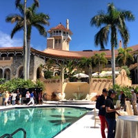 Photo taken at The Mar-a-lago Club by Sam D. on 3/16/2013