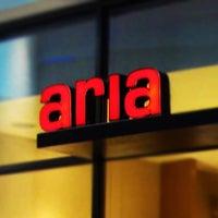 Photo taken at Aria Cucina Italiana by Juan E. on 12/10/2012