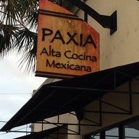 Photo taken at Paxia Alta Cocina Mexicana by Brad K. on 11/8/2013