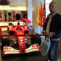 Photo taken at Ferrari Store by Arto P. on 3/14/2013