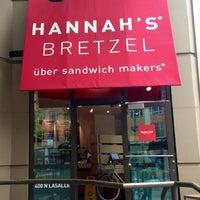 Photo taken at Hannah's Bretzel by Hannah S. on 8/5/2013