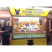 Photo taken at Putra Minang by clayton b. on 8/17/2013