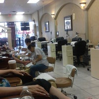 Photo taken at French Nails & Spa by Abby H. on 2/27/2014
