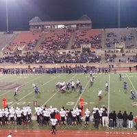 Photo taken at Buddy Echols Field by Gabe R. on 11/17/2012