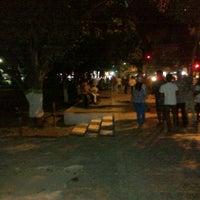 Photo taken at Alun Alun Bondowoso by Satrio E. on 8/17/2013