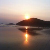 Photo taken at Praia da Baleia by Ulisses B. on 12/26/2012
