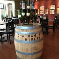 Photo taken at Chatham Hill Winery by Scott M. on 1/13/2013