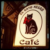 Photo taken at El Gato Negro by Juan Pablo G. on 4/8/2012