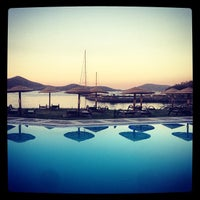 Photo taken at Porto Elounda Golf & Spa Resort by Mare_Porto_Peninsula on 8/12/2013
