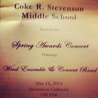 Photo taken at Stevenson Middle School by Johnny S. on 5/15/2014