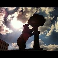 Photo taken at Estatua del Oso y el Madroño by Tarsys P. on 9/23/2012