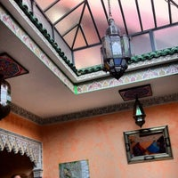 Photo taken at Riad Idrissi by Tulio P. on 1/10/2013
