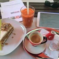 Photo taken at Cafe Pavlína by Šáfa . on 5/20/2014