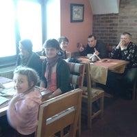 Photo taken at Restaurace U Bílého koníčka by Bohumila H. on 3/1/2014