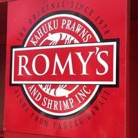Photo taken at Romy's Kahuku Prawns & Shrimp Hut by ❤Ƙҽ ժ. on 4/6/2014