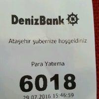 Photo taken at DenizBank by Kenan Mete İstanbul on 7/29/2016