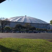 Photo taken at Tropicana Field by Joe P. on 1/24/2013