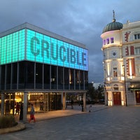 Photo taken at Crucible Theatre by Jonathon G. on 10/4/2013