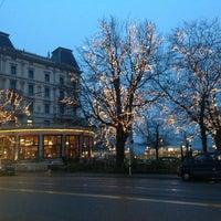 Photo taken at Bellevueplatz by Felipe M. on 12/22/2012
